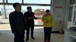 蠡县气象局开展了防雷防静电安全执法检查尼龙管